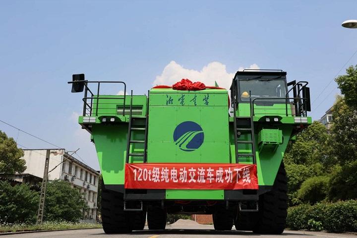 20210624-宁德时代绿色进阶 助力全球首台120吨级纯电动矿用自卸车成功下线 01.jpg